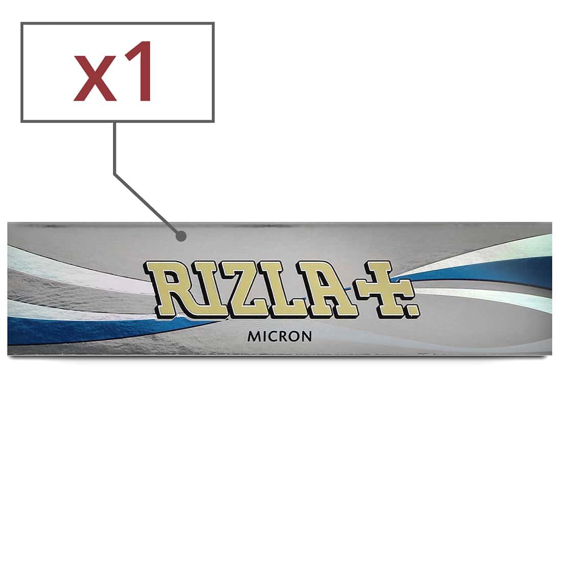 Photo de Papier à rouler Rizla + Micron slim x 1