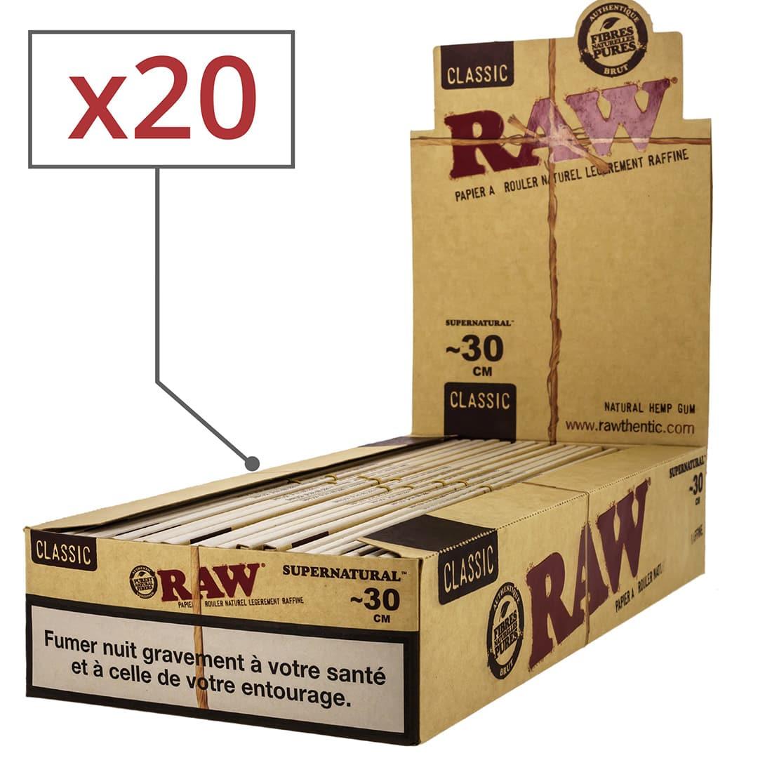 Photo de Papier à rouler Raw Mega Longue x 20
