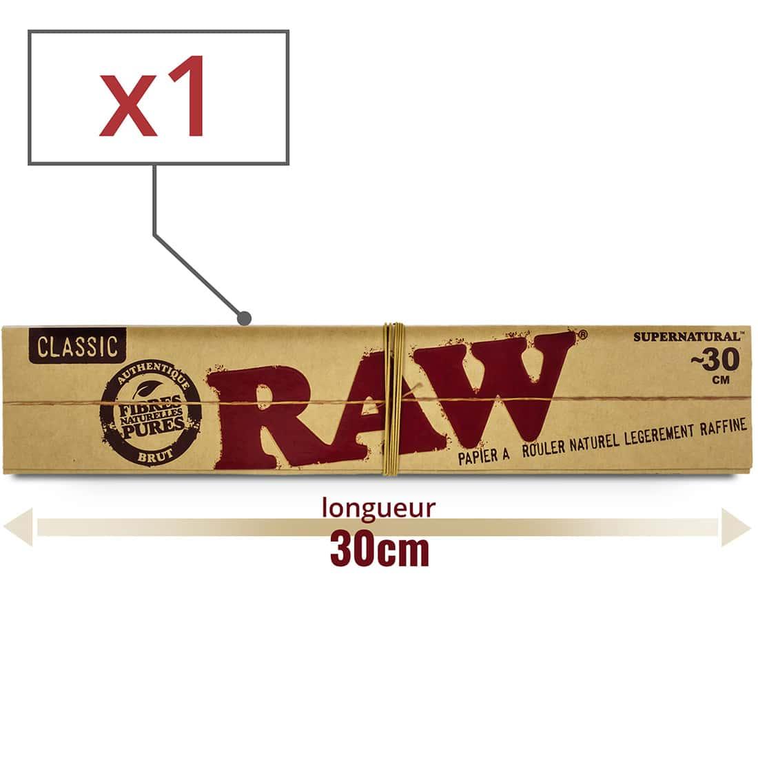 Photo de Papier à rouler Raw Mega Longue x 1