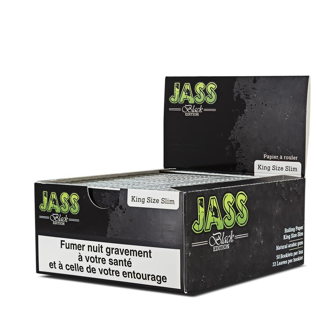 Photo de Papier à rouler Jass Slim Black Edition x 50