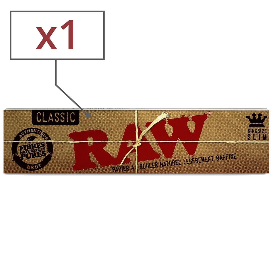 Photo de Papier à rouler Raw slim x1