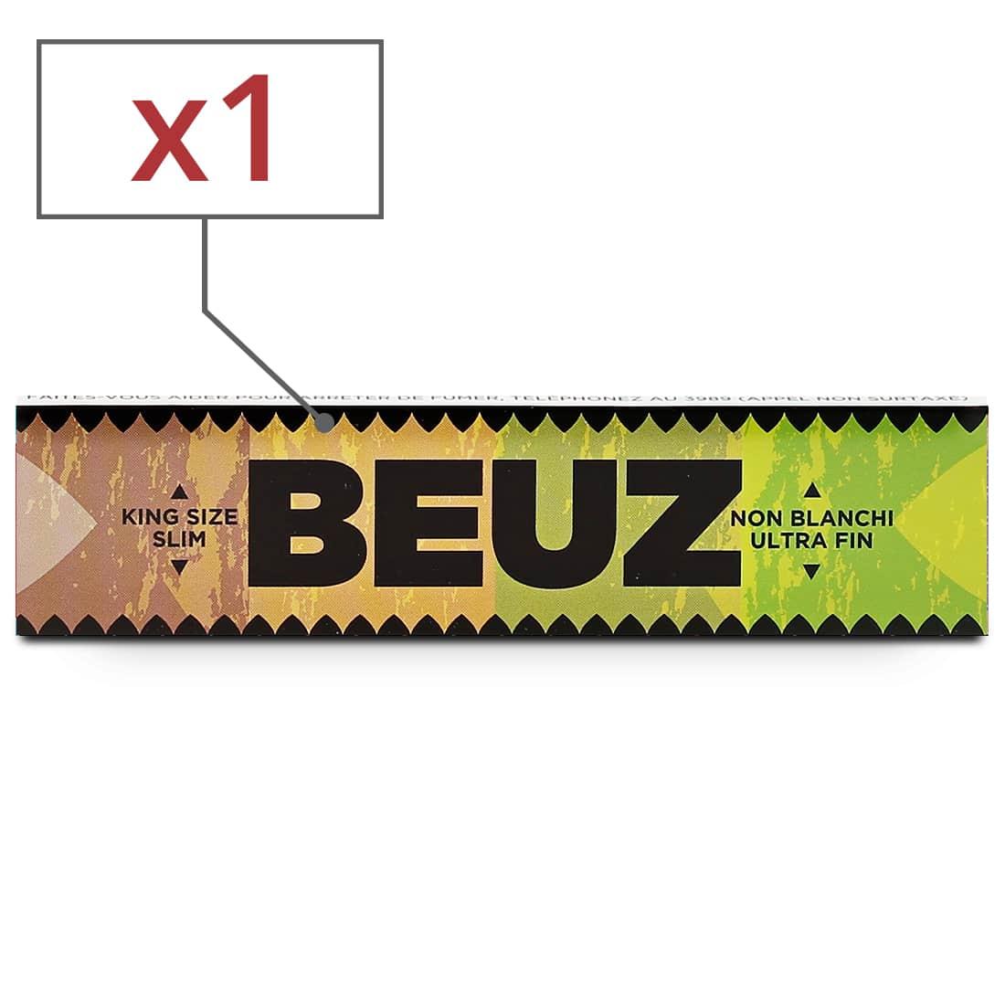 Photo de Papier a rouler Beuz Slim Brown x1