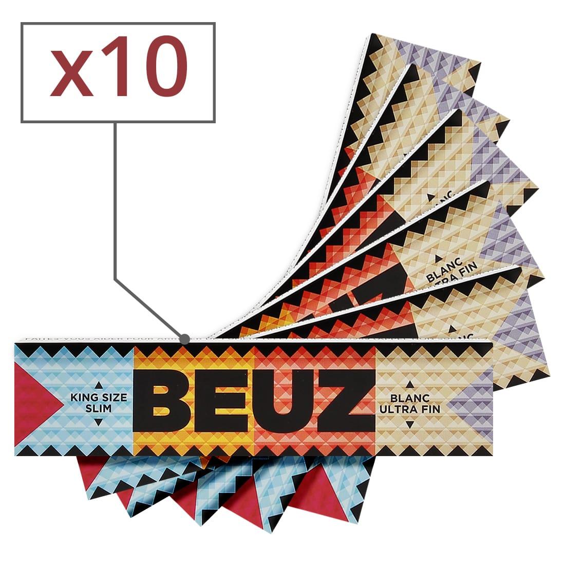 Photo de Papier a rouler Beuz Slim x10