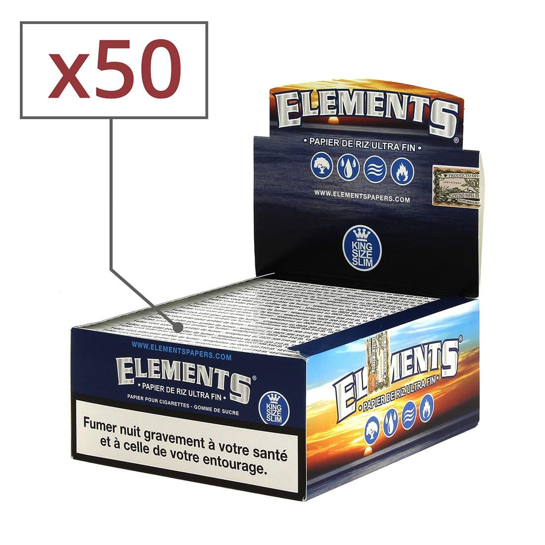 Photo de Papier à rouler Elements Slim x 50