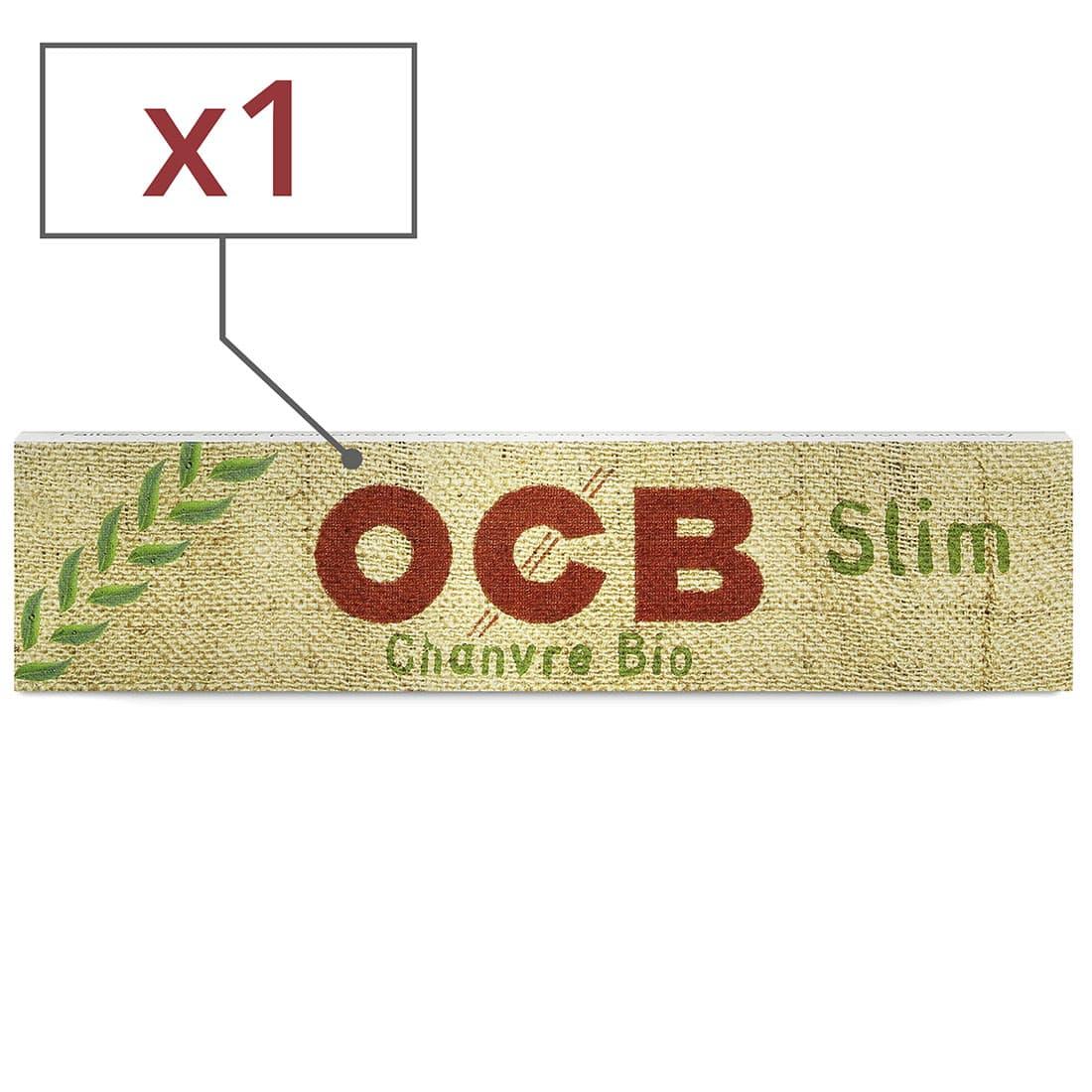 Photo de Papier à rouler OCB Slim Chanvre Bio x 1