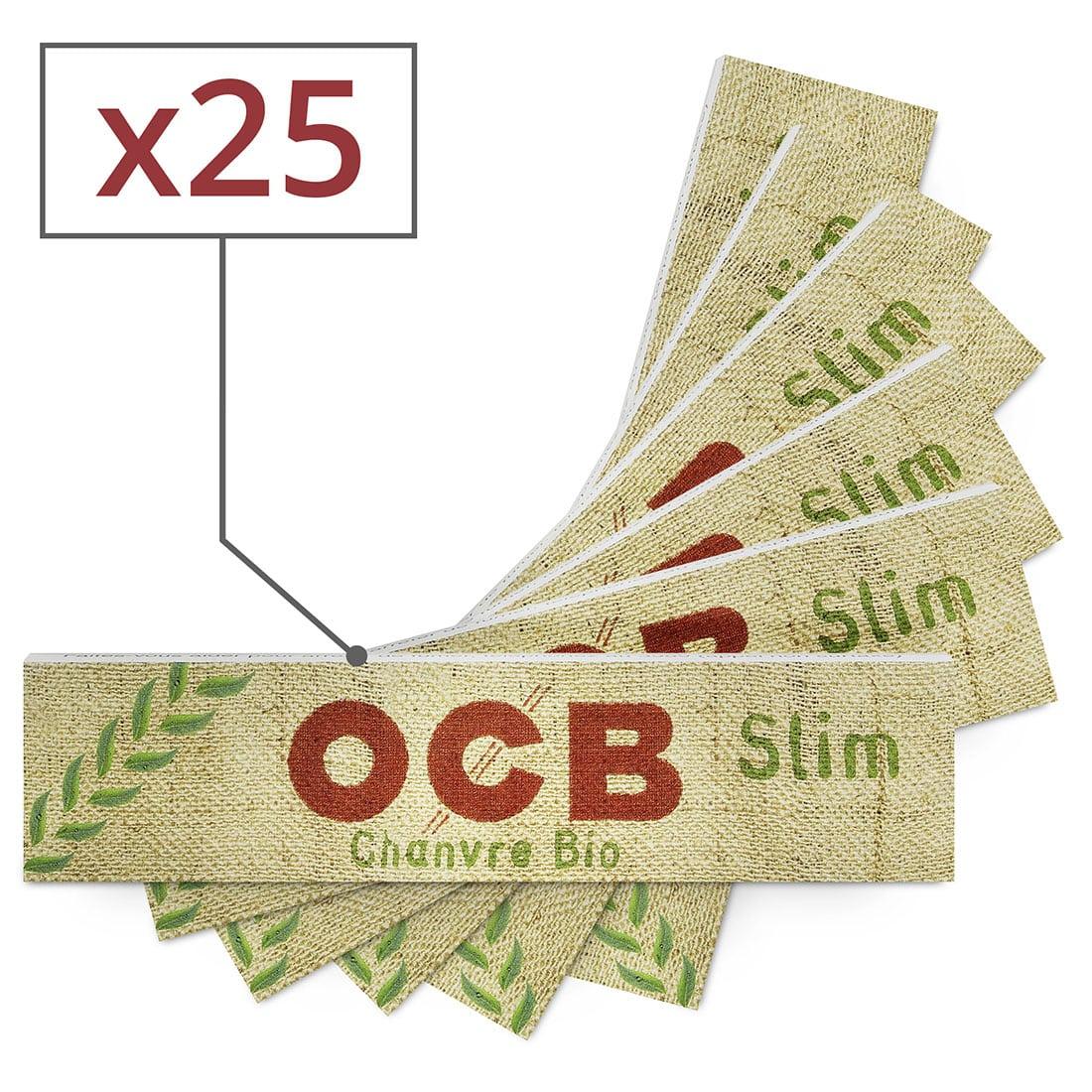 Photo de Papier à rouler OCB Slim Chanvre Bio x 25