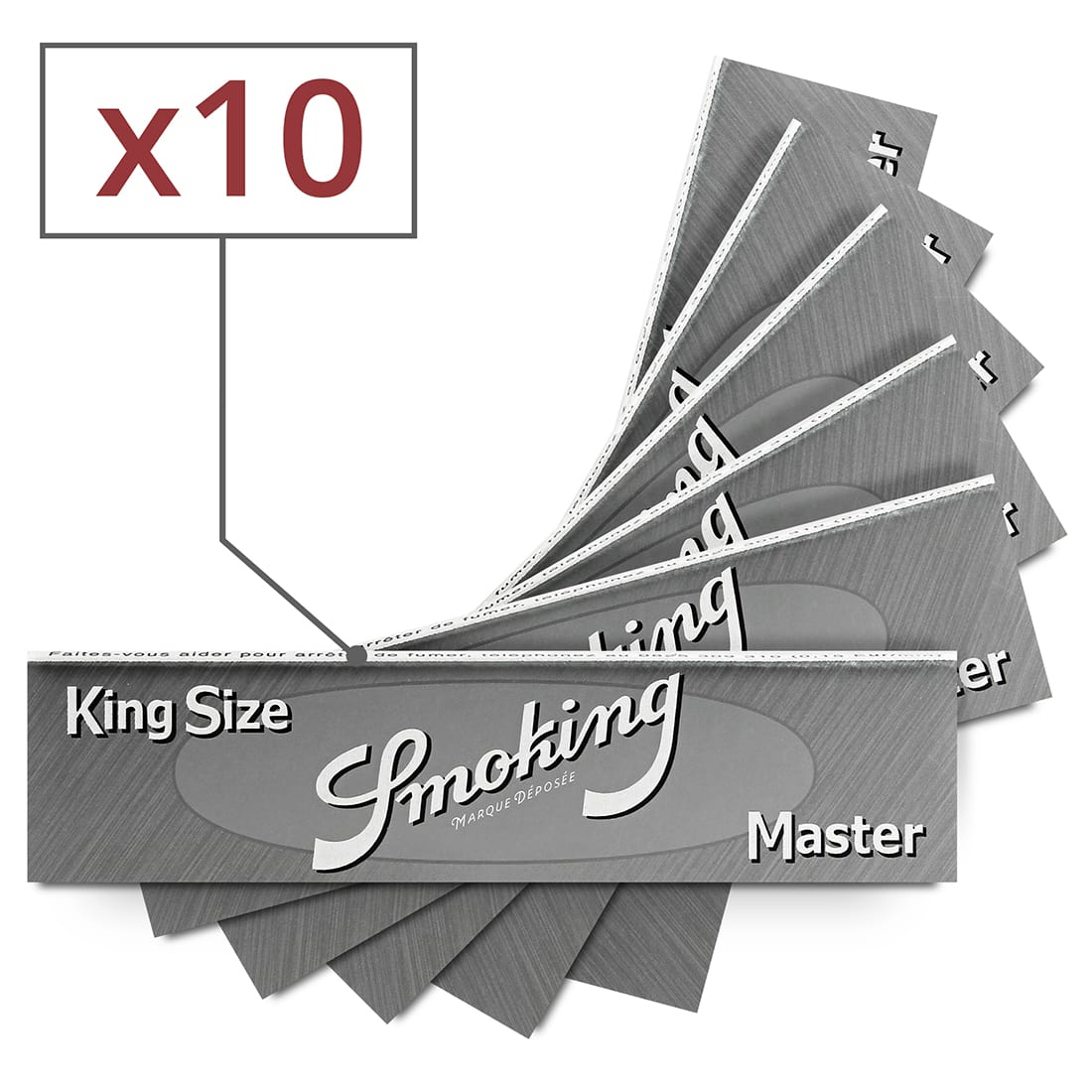 Photo de Papier à rouler Smoking KS Master x10