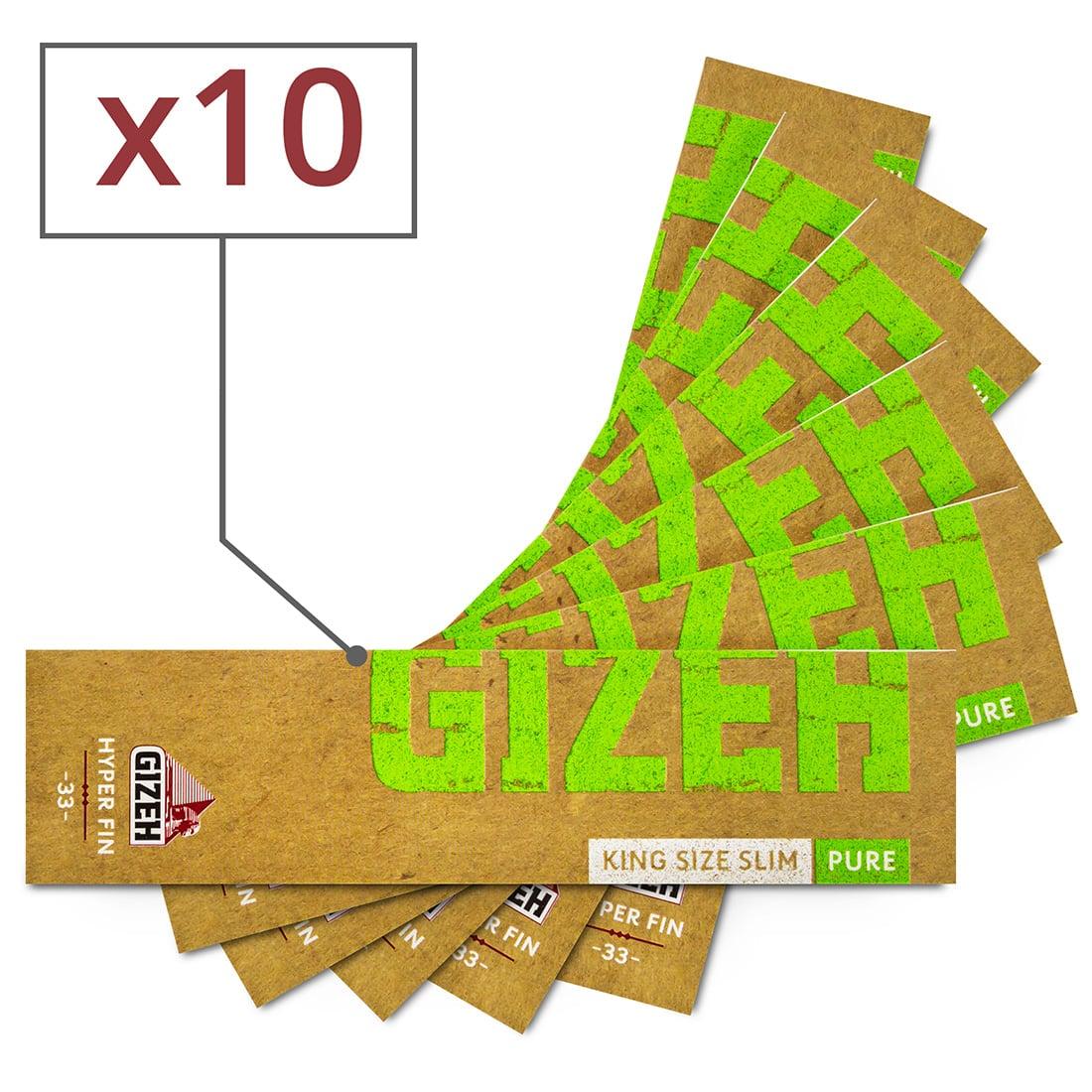 Photo de Papier à rouler Gizeh Slim Pure Hyper fin x 10