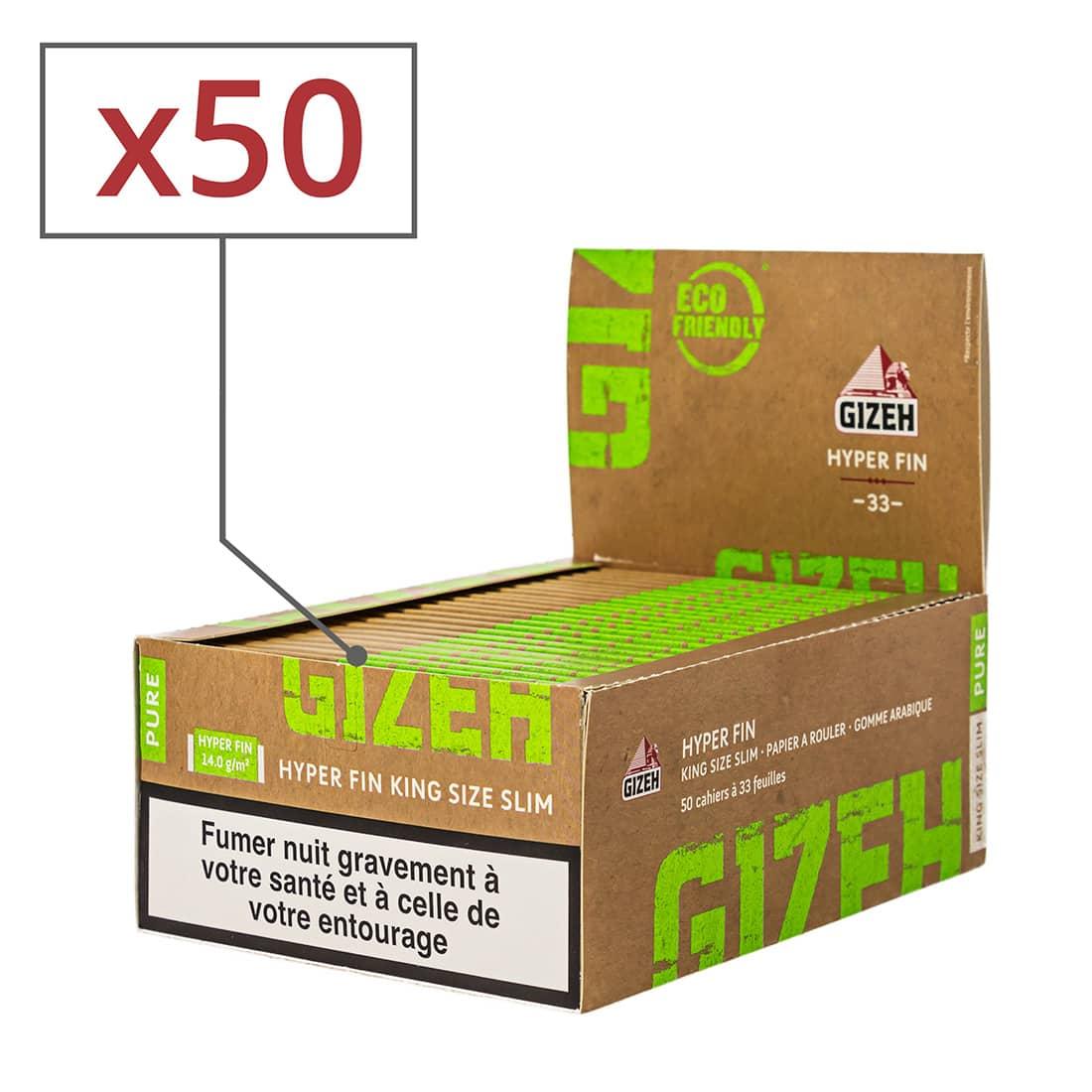 Photo de Papier à rouler Gizeh Slim Pure Hyper fin x 50