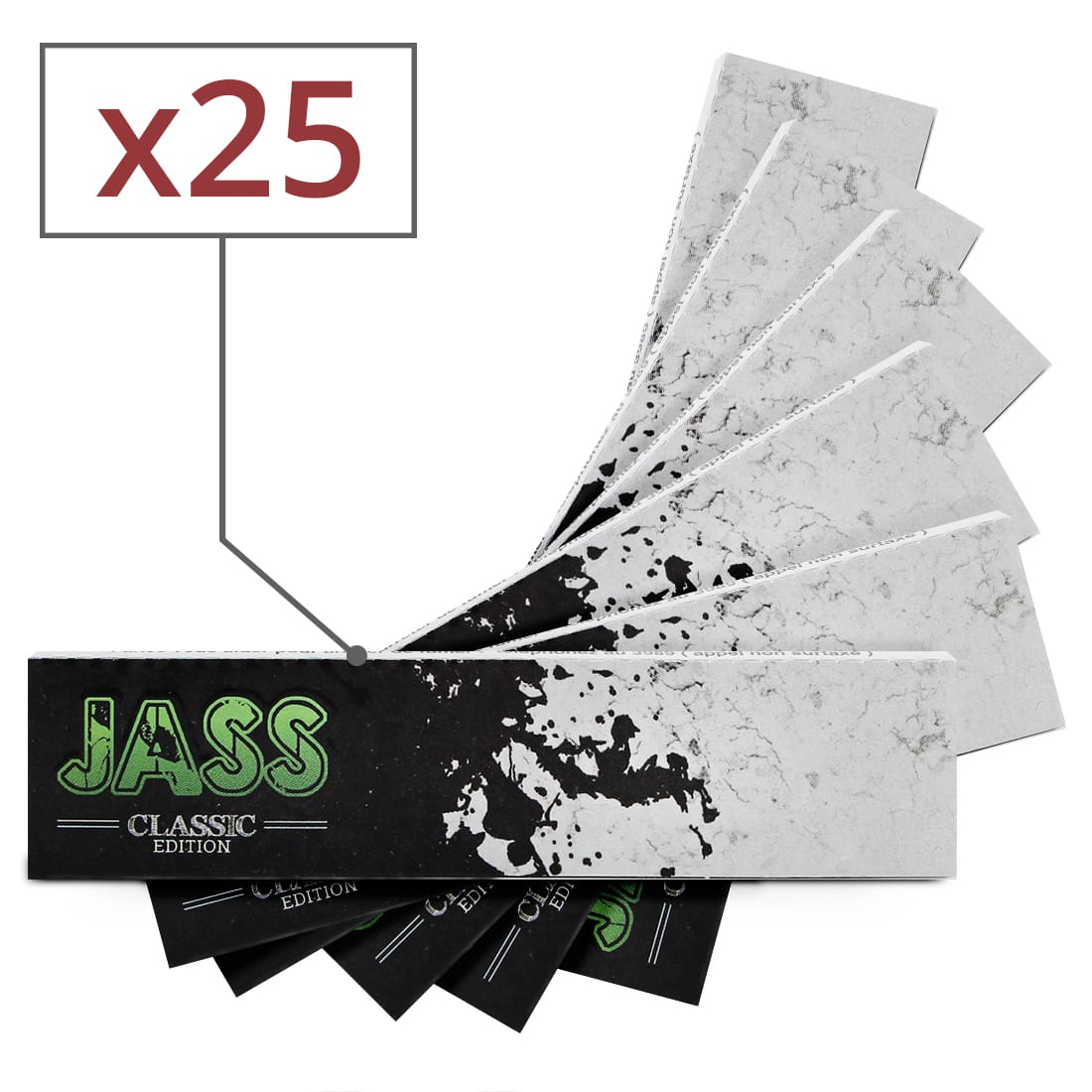 Photo de Papier à rouler Jass Slim Classic Edition x 25