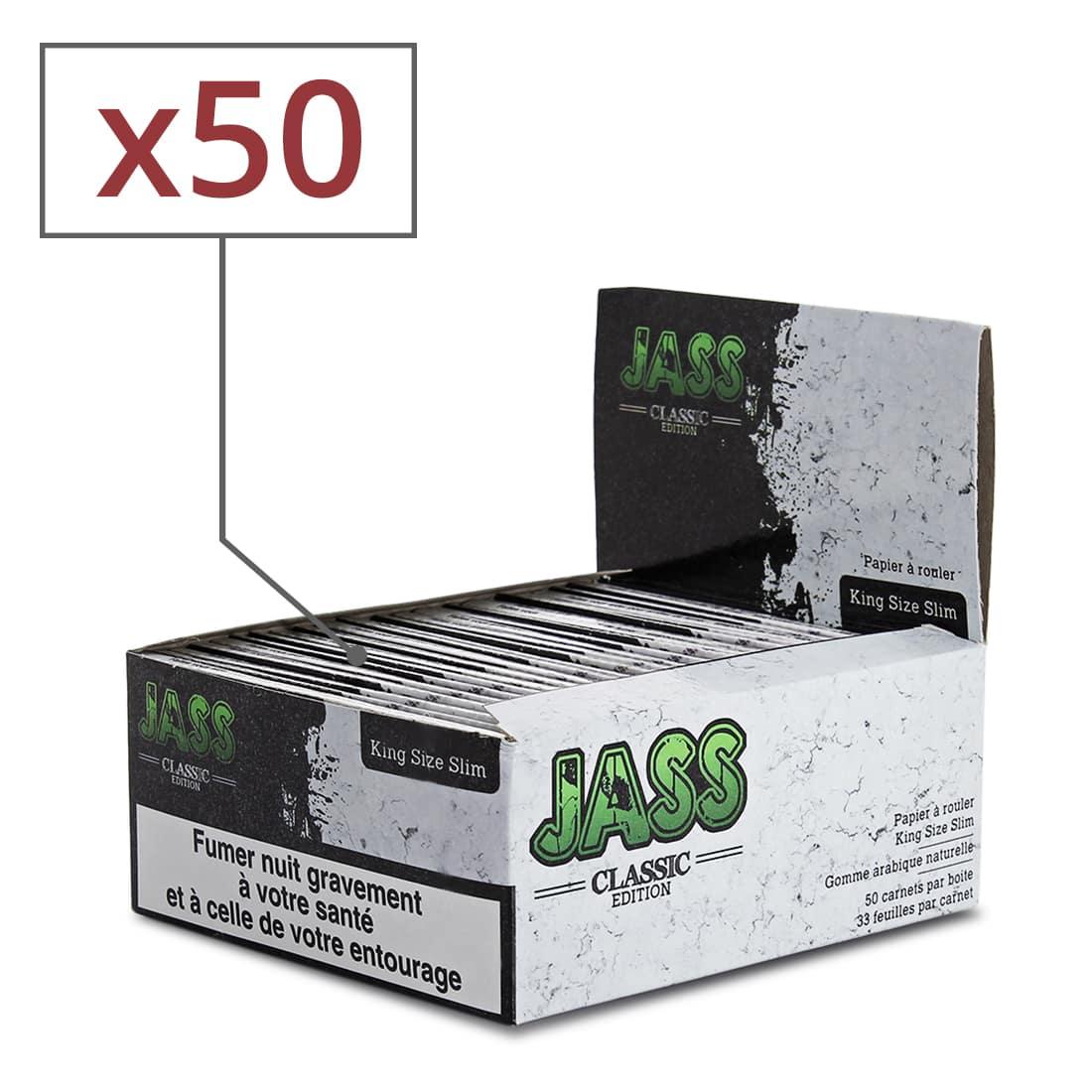 Photo de Papier à rouler Jass Slim Classic Edition x 50