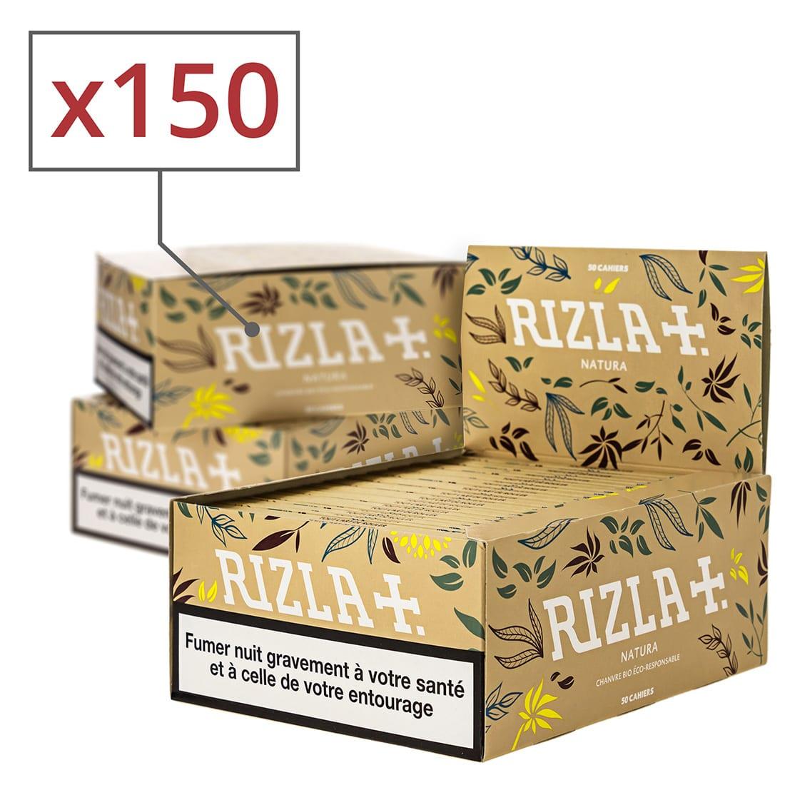 Photo de Papier à rouler Rizla + Natura Slim x 50 Pack de 3