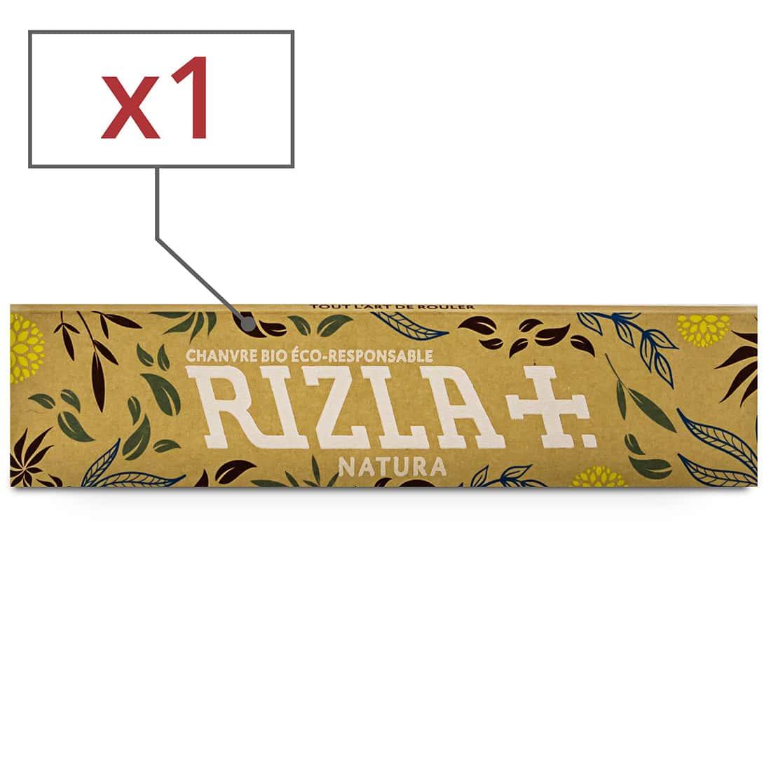 Photo de Papier à rouler Rizla + Natura Slim x 1