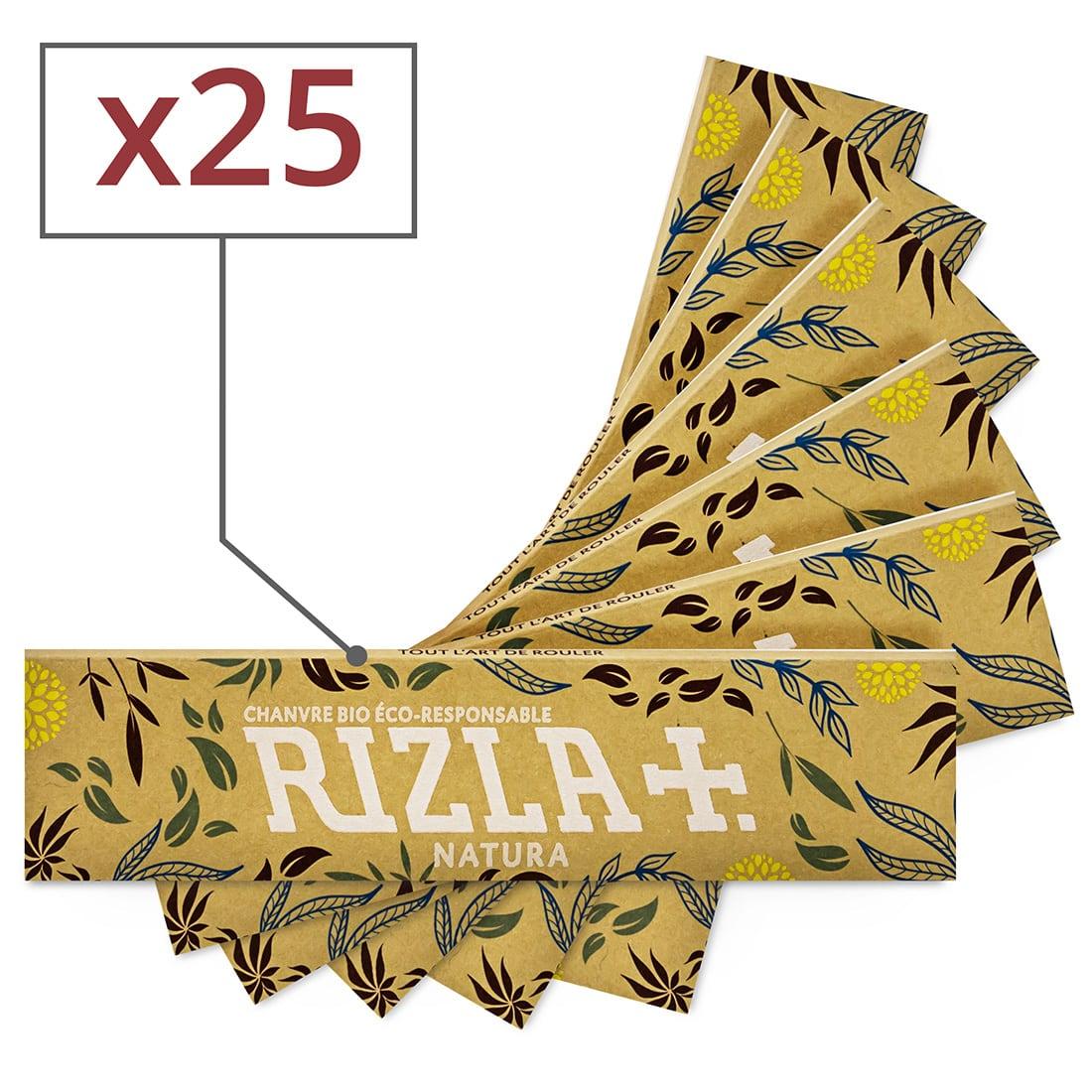 Photo de Papier à rouler Rizla + Natura Slim x 25