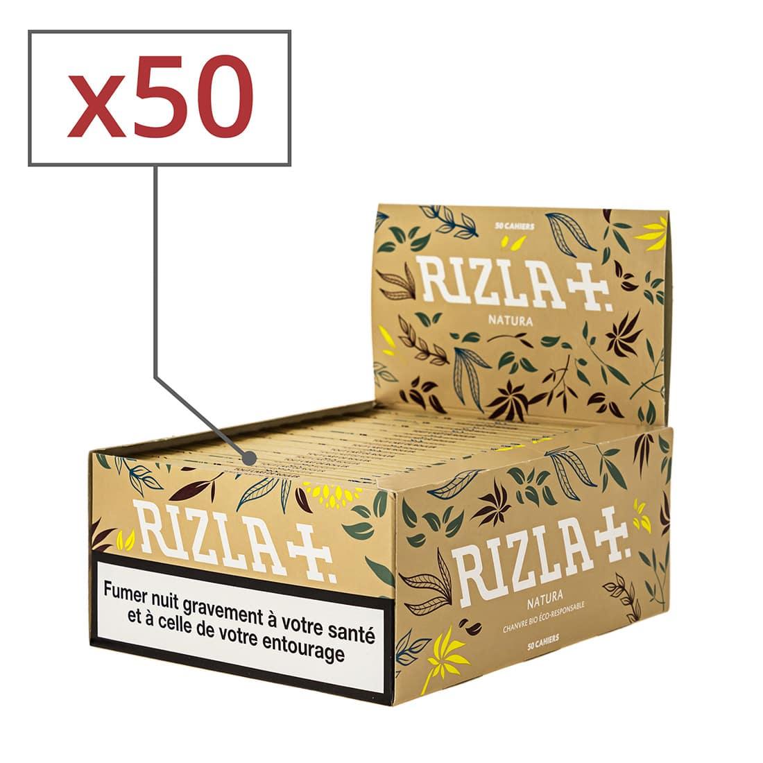 Photo de Papier à rouler Rizla + Natura Slim x 50