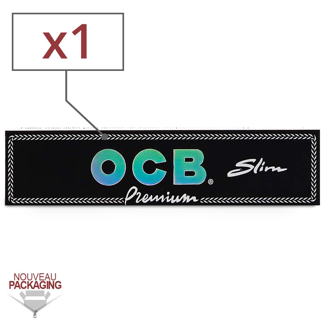 Photo de Papier à rouler OCB Slim Premium x 1