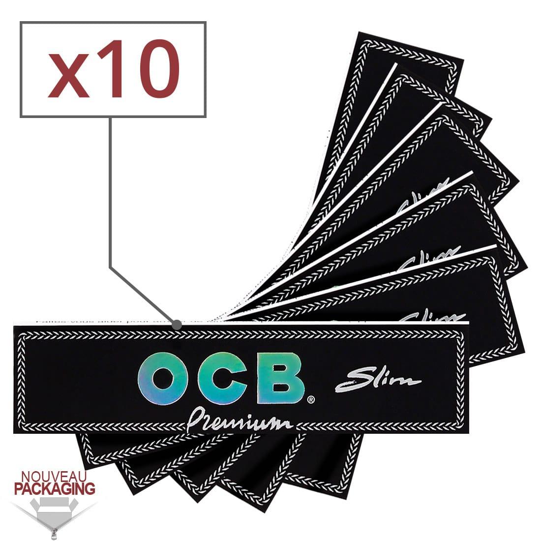 Photo de Papier à rouler OCB Slim Premium x10
