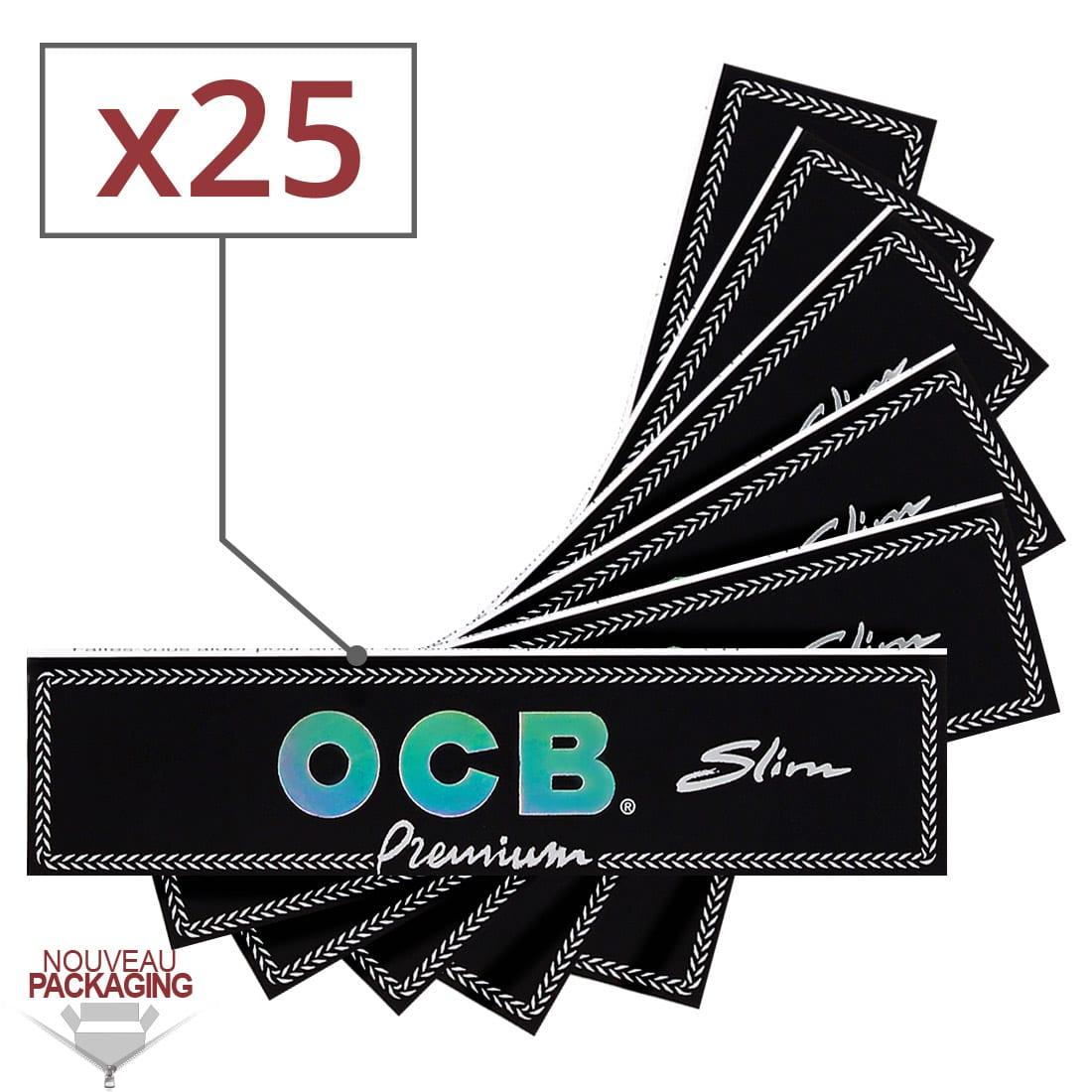 Photo de Papier à rouler OCB Slim Premium x 25