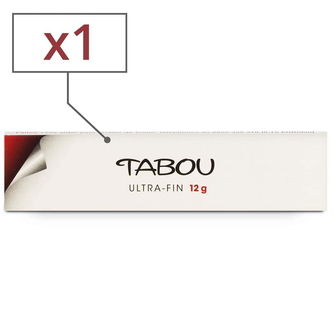 Photo de Feuille a rouler Tabou Slim Ultra Fin x 1