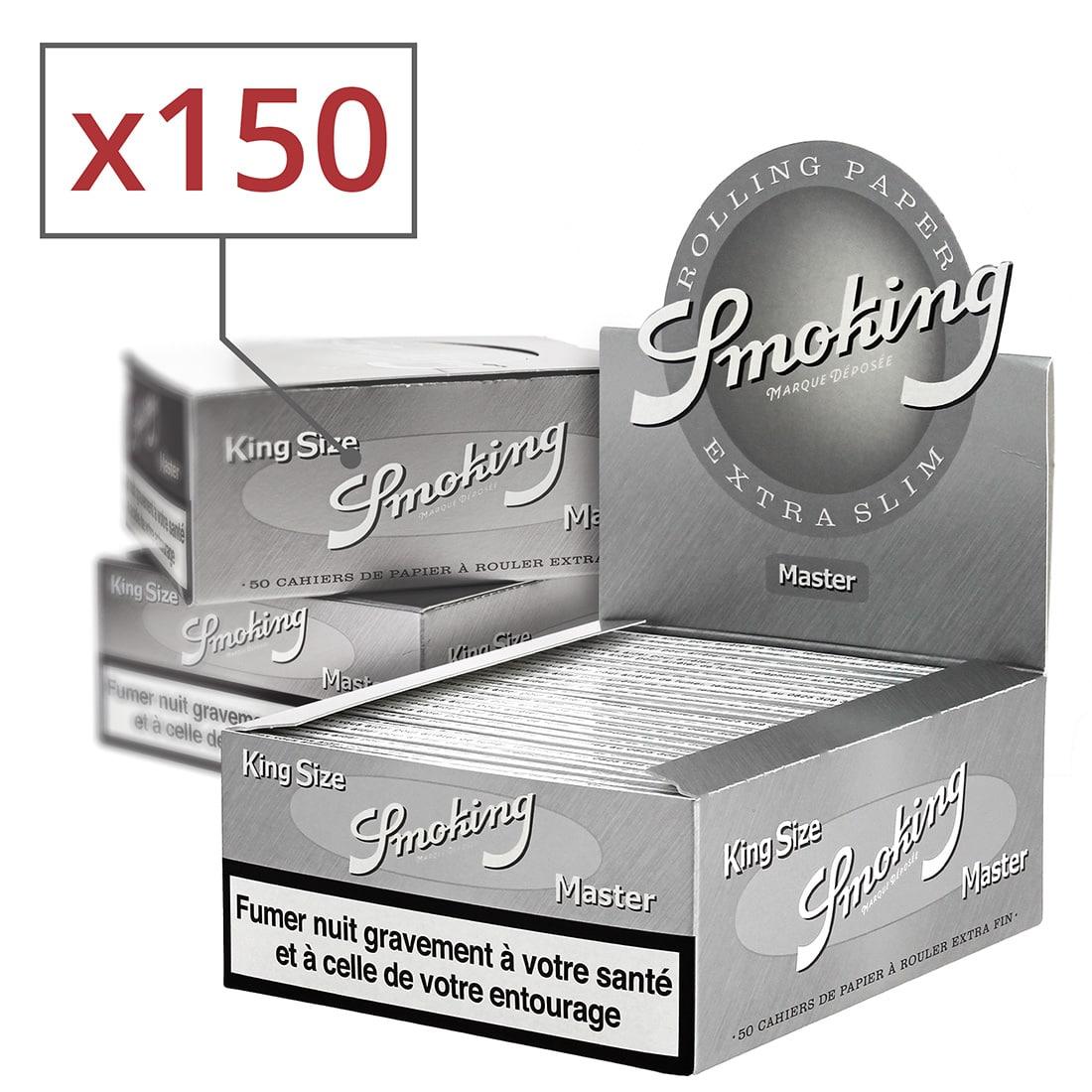 Photo de Papier à rouler Smoking KS Master x50 PACK de 3