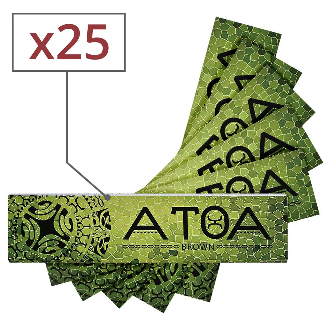 Photo de Papier à rouler ATOA Slim Brown x 25