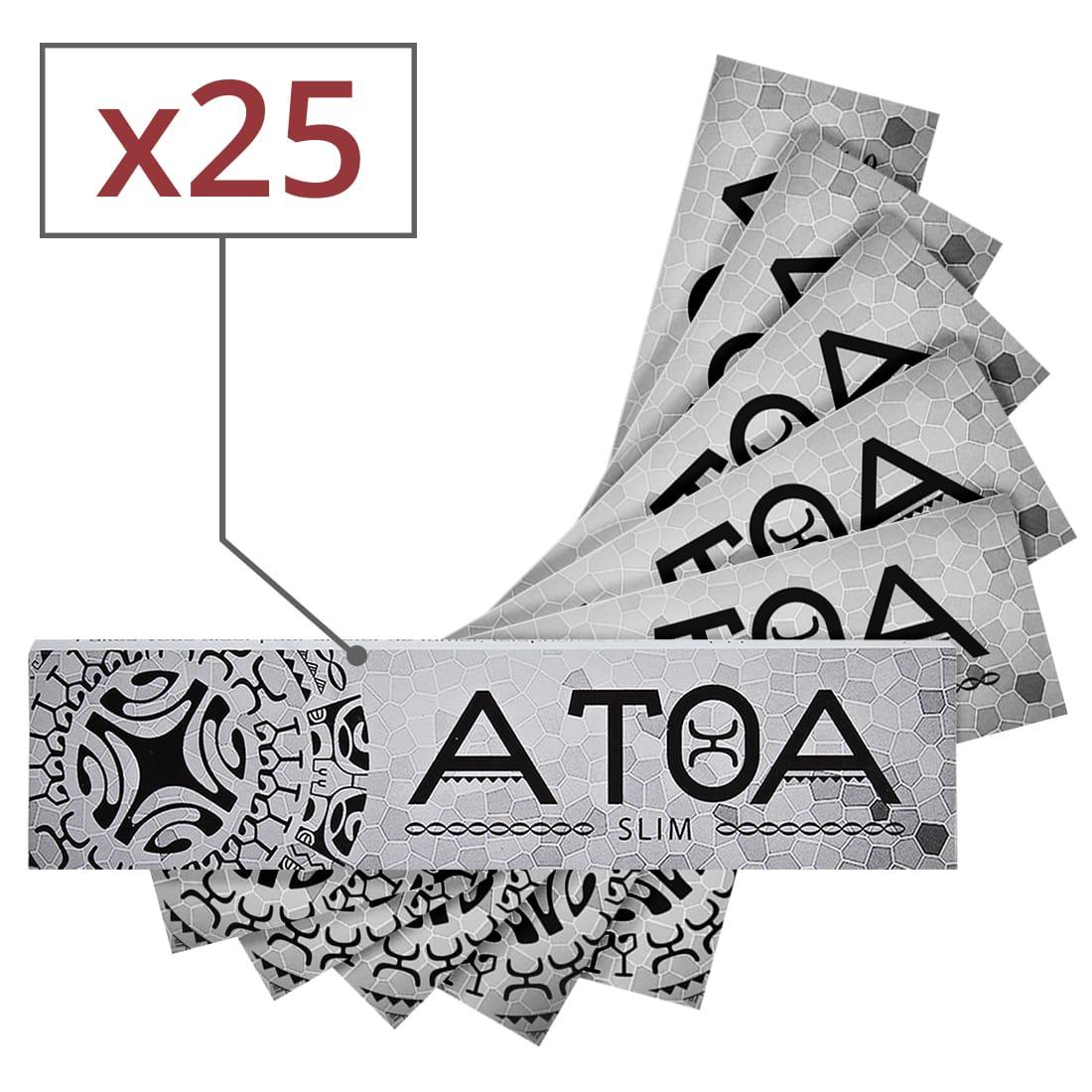 Photo de Papier à rouler ATOA Slim x 25