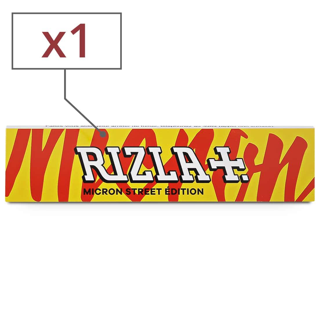 Photo de Papier à rouler Rizla + Micron Slim Street Edition x 1