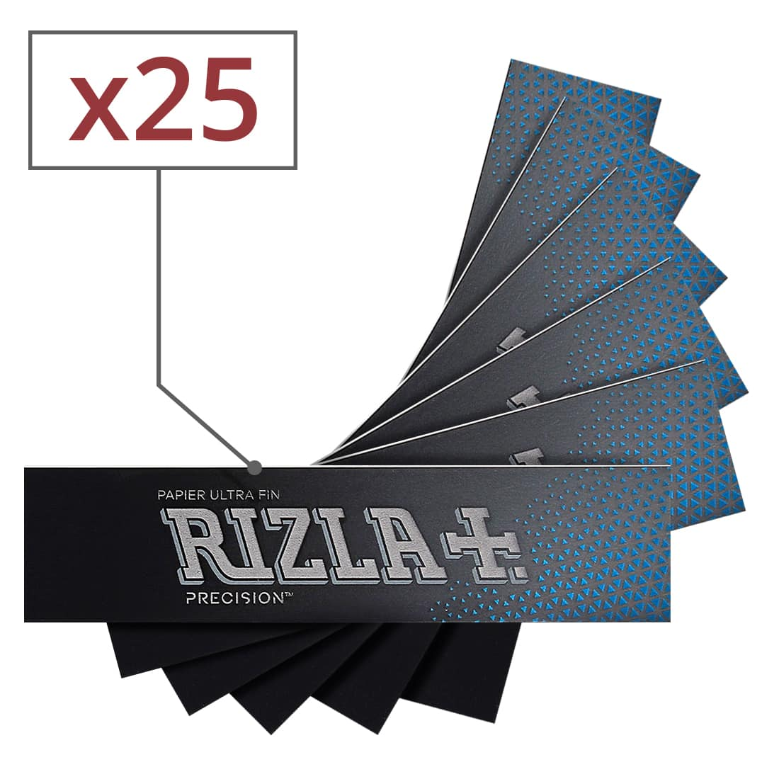 Photo de Papier à rouler Rizla + Precision Slim x 25