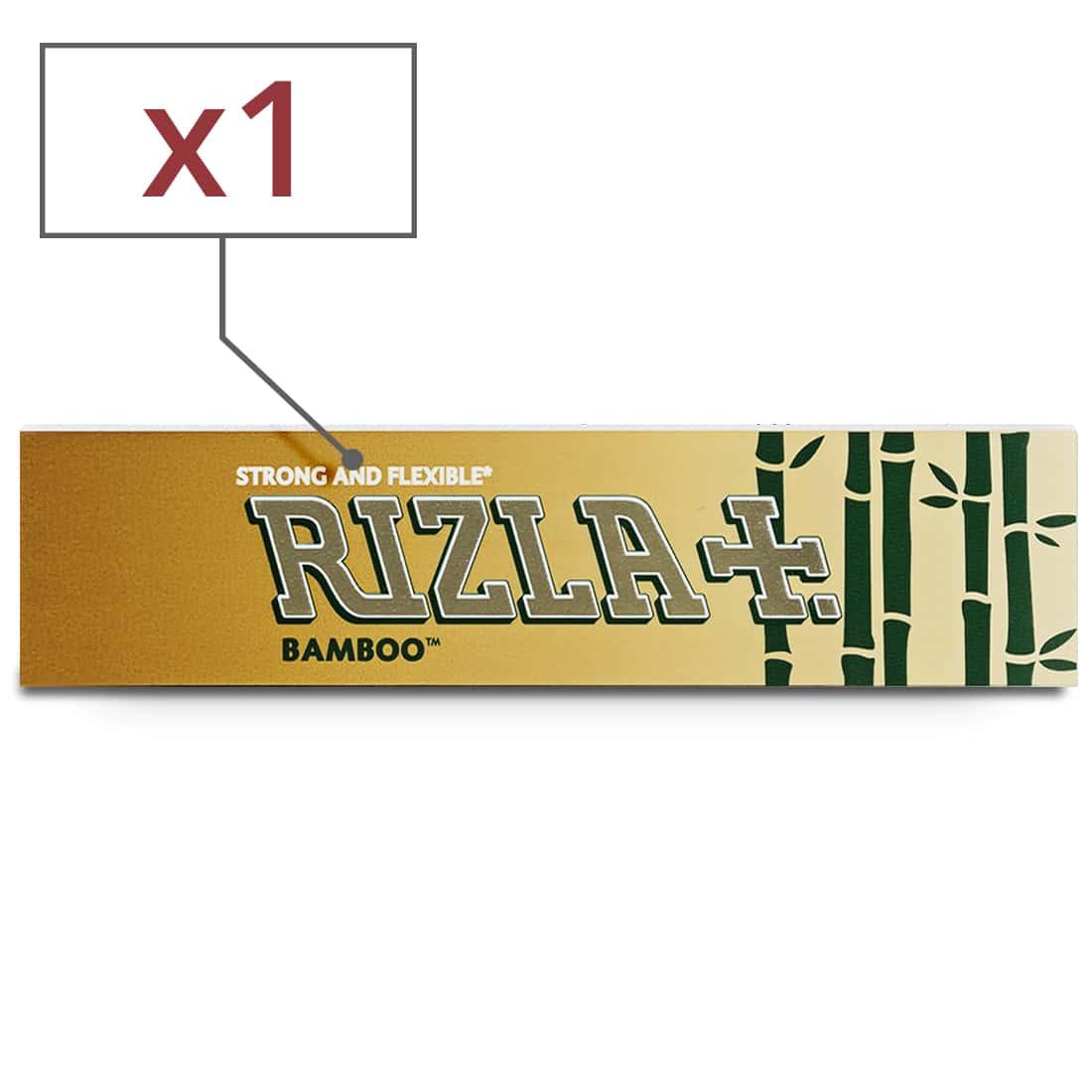 Photo de Papier à rouler Rizla + Bamboo Slim x 1