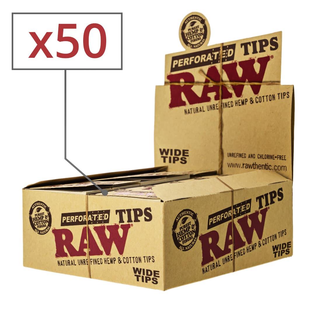 Photo de Filtres en Carton Raw Wide x50