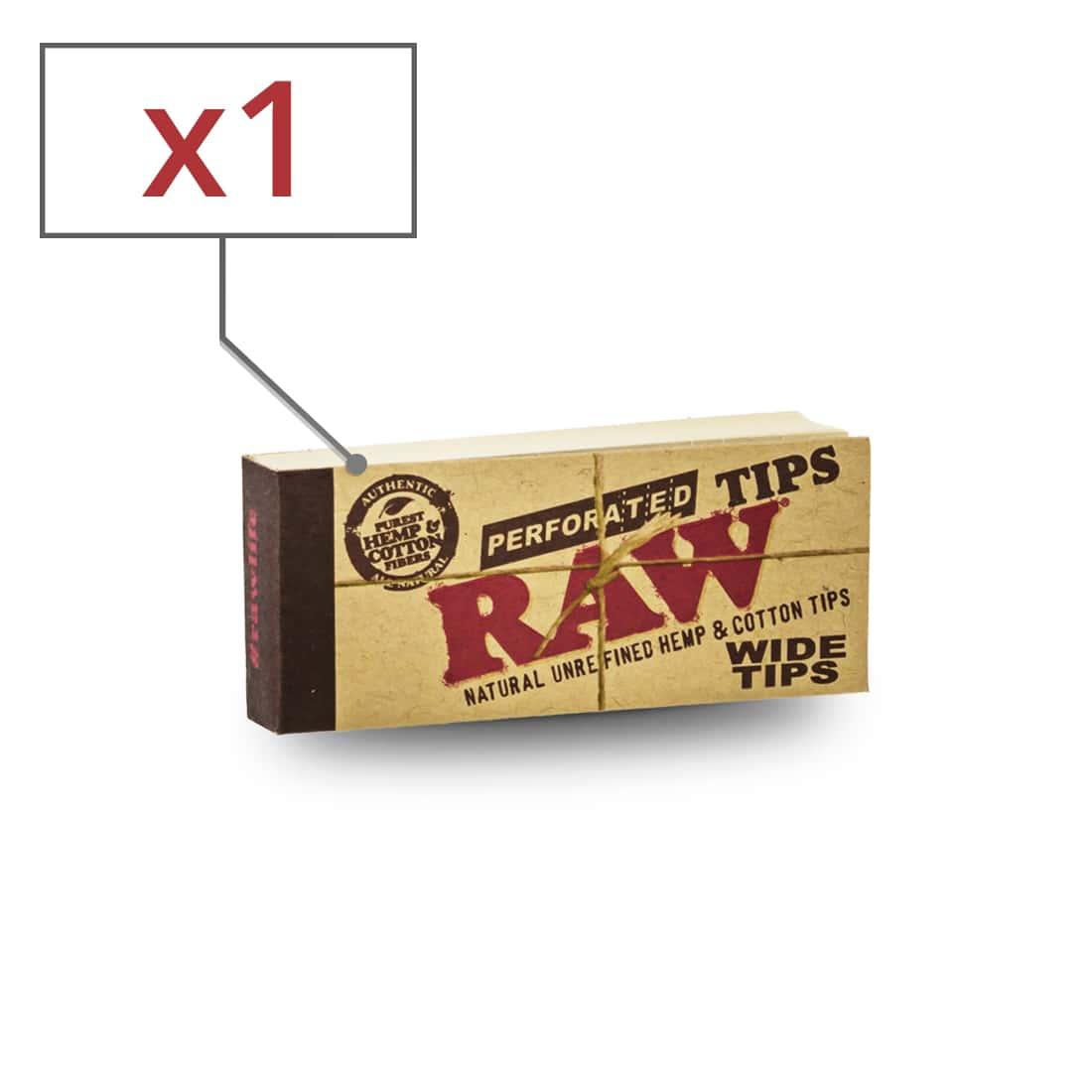 Photo de Filtres en Carton Raw Wide x1