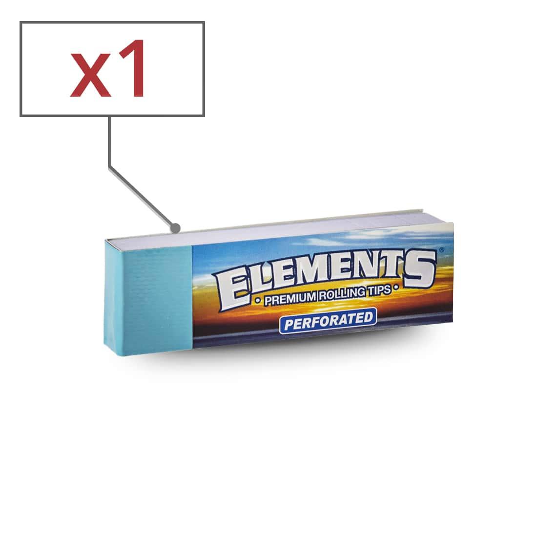 Photo de Filtres en carton Elements perforés x  1