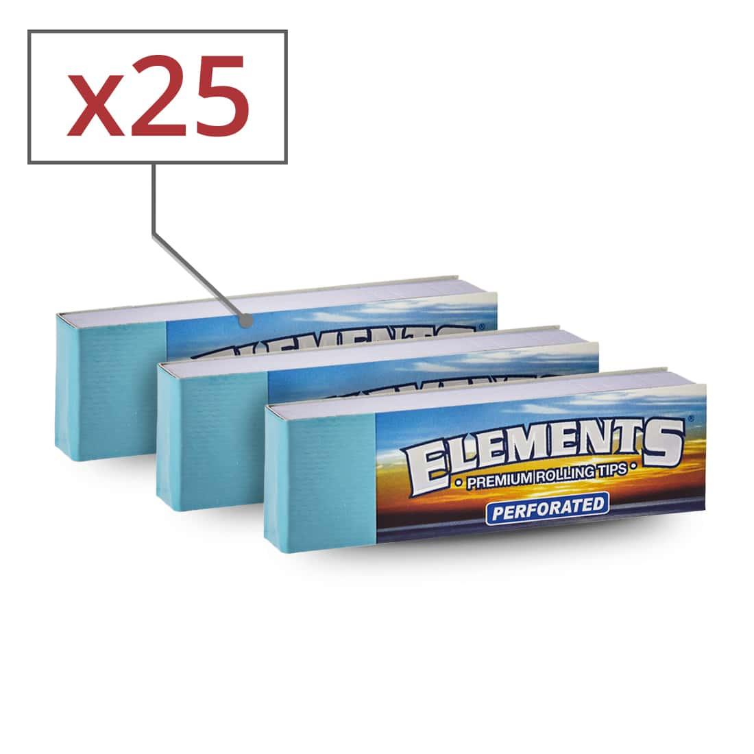 Photo de Filtres en carton Elements perforés x 25