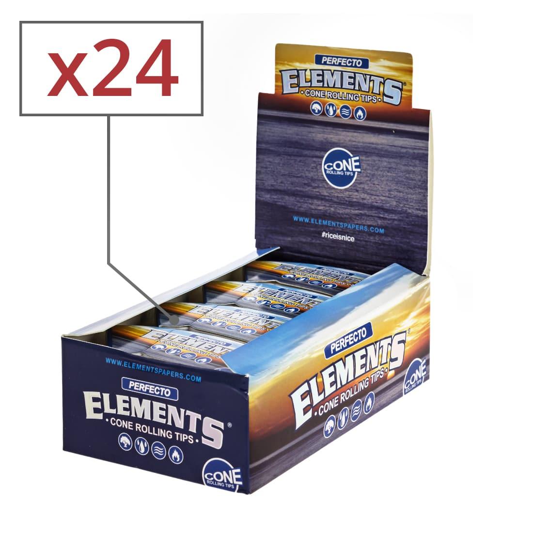 Photo de Filtres en Carton Elements Coniques x 24
