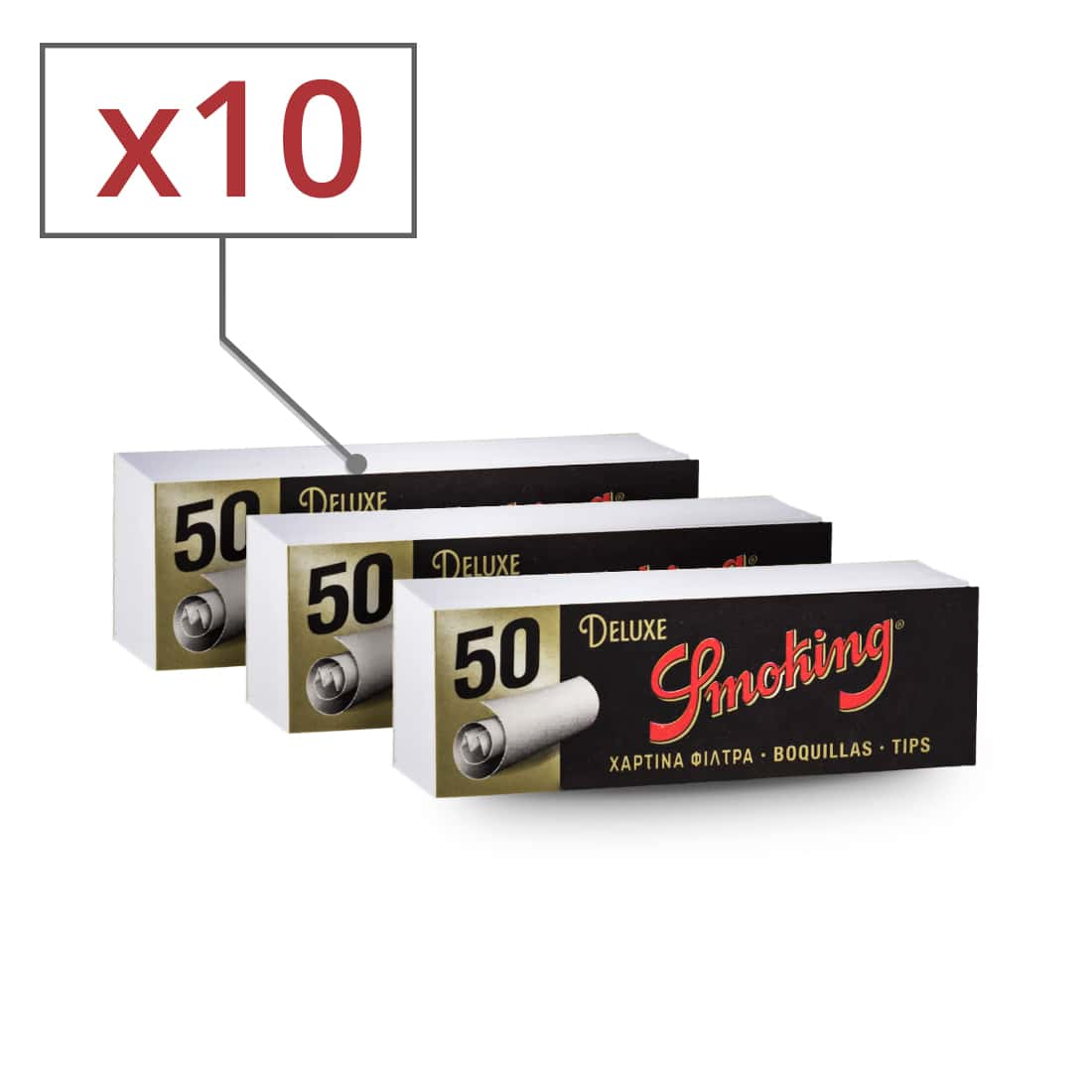 Photo de Filtres en carton Smoking x10