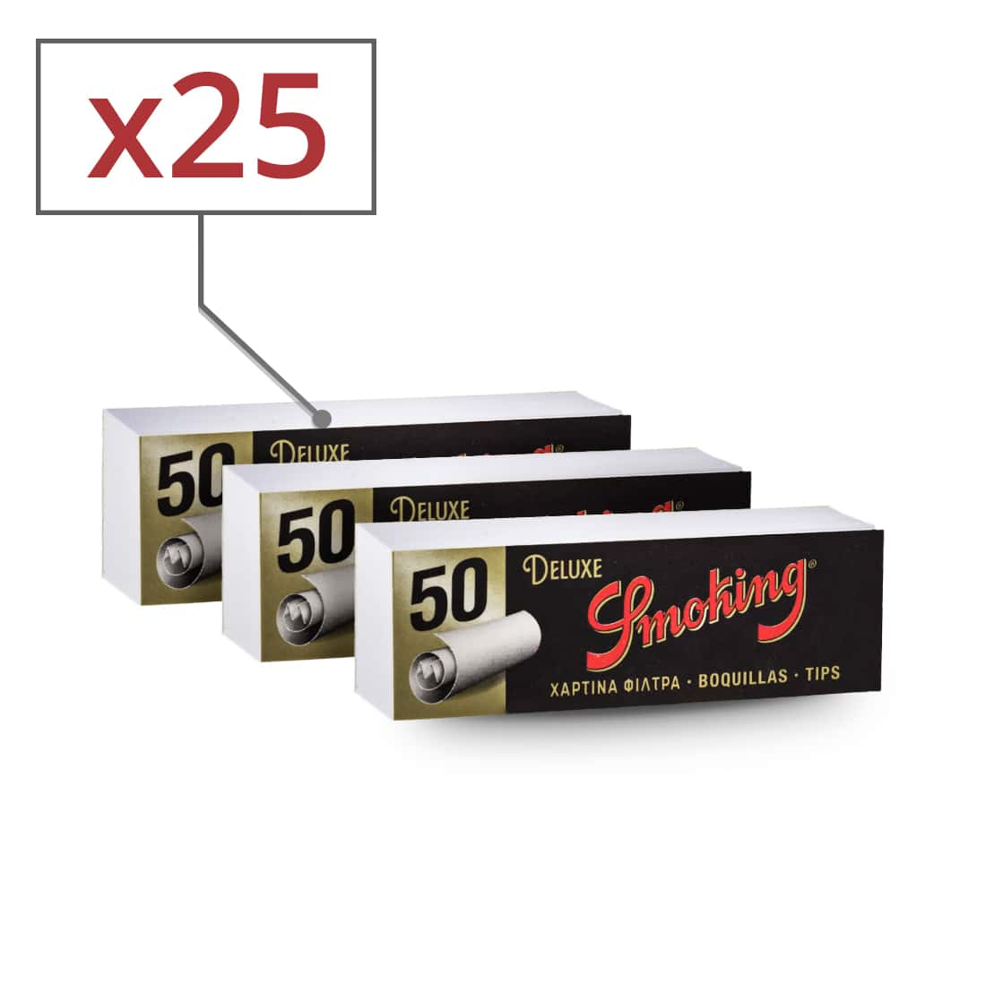 Photo de Filtres en carton Smoking x25