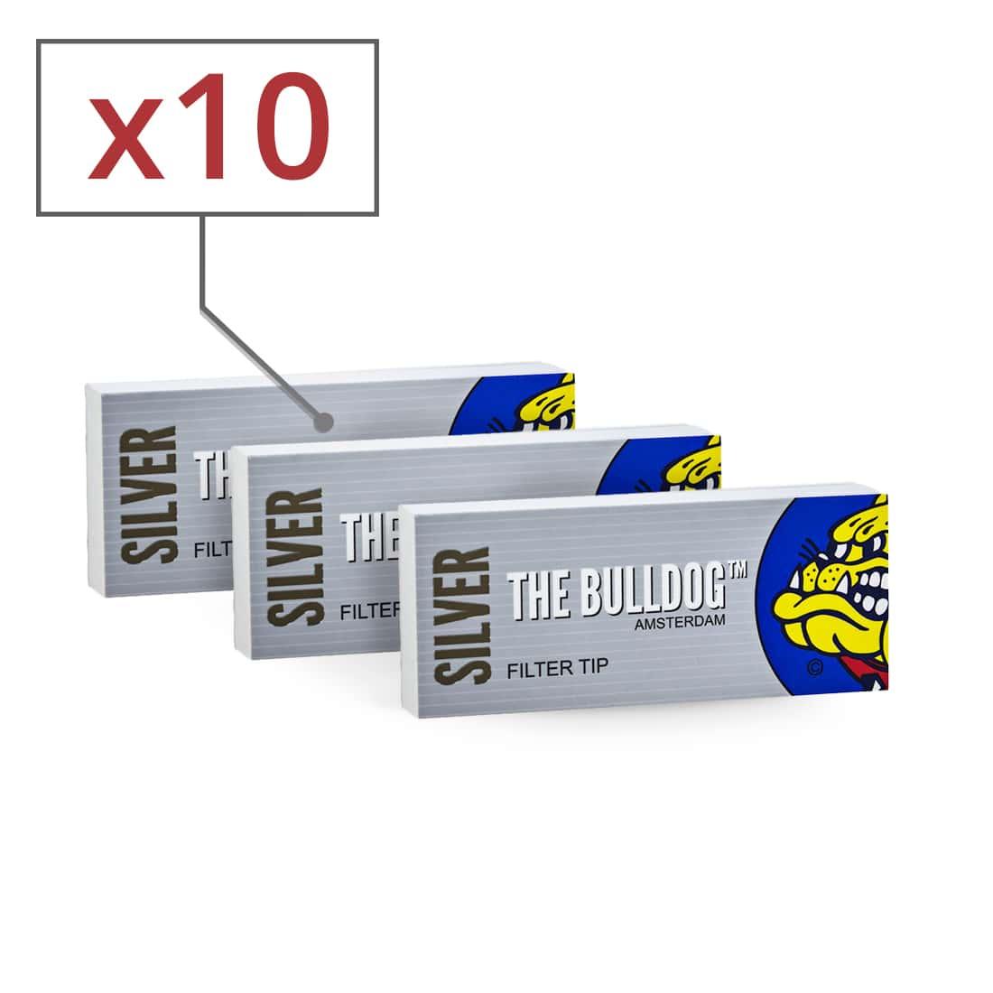 Photo de Filtres en carton The Bulldog perforés x 10