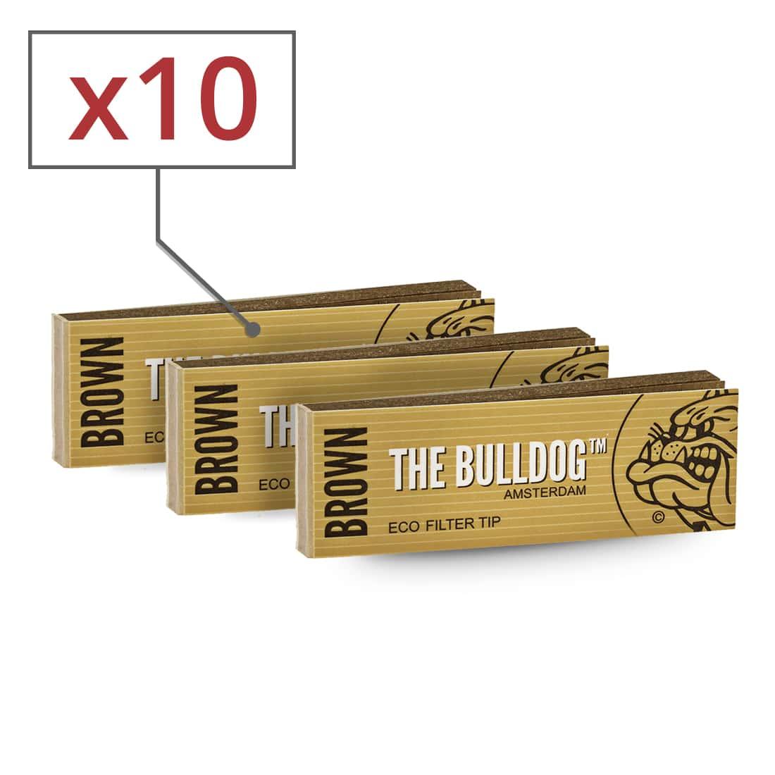 Photo de Filtres carton The Bulldog Brown x 10