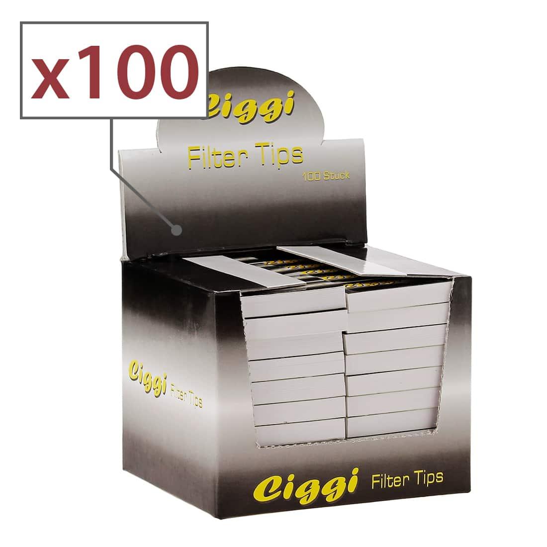 Photo de Filtre carton Ciggi x100