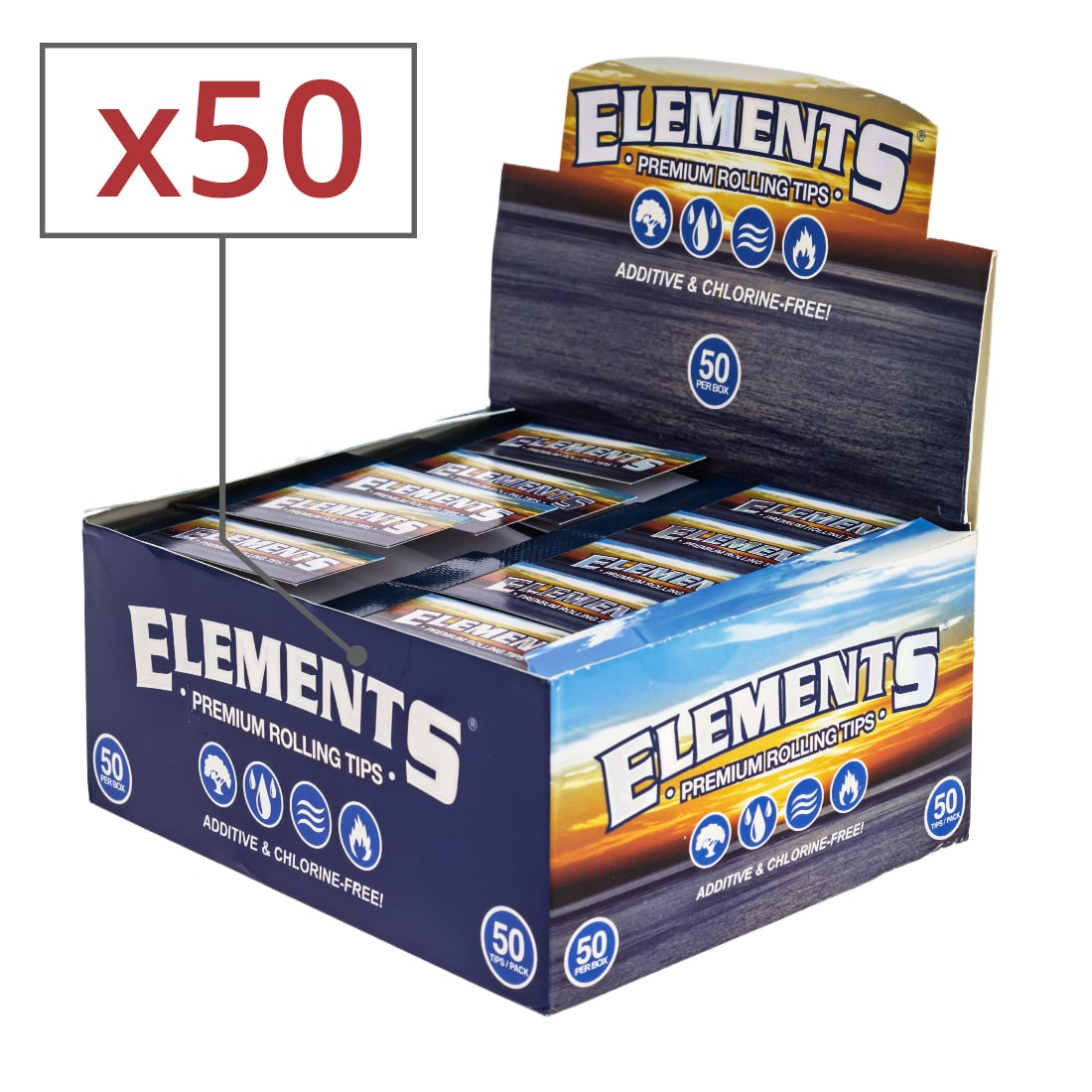 Photo de Filtres en carton Elements x 50