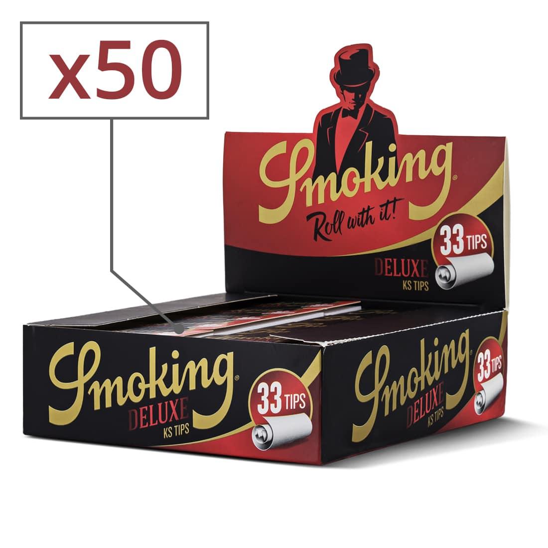 Photo de Filtres en carton Smoking Larges x 50