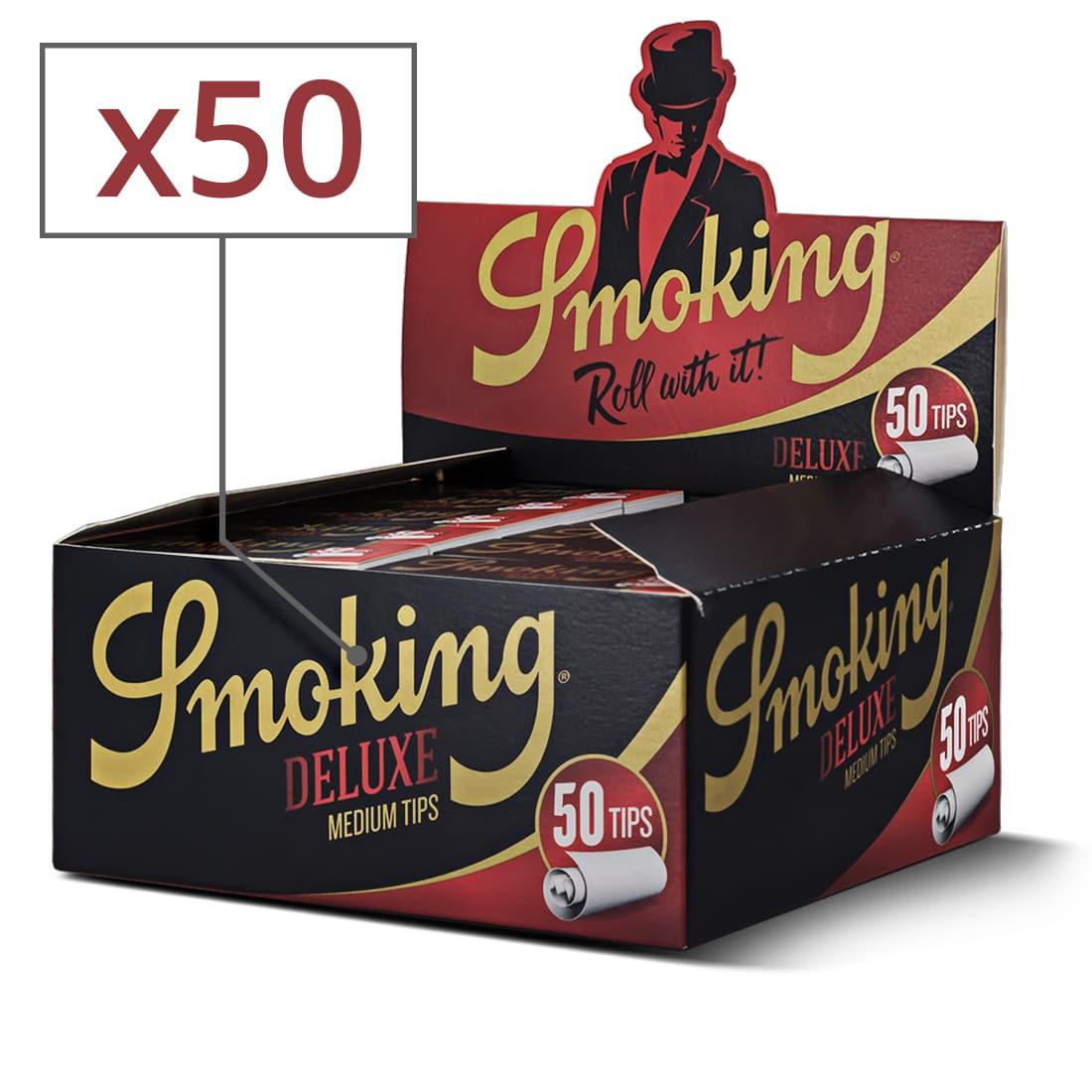 Photo de Filtres en carton Smoking x50