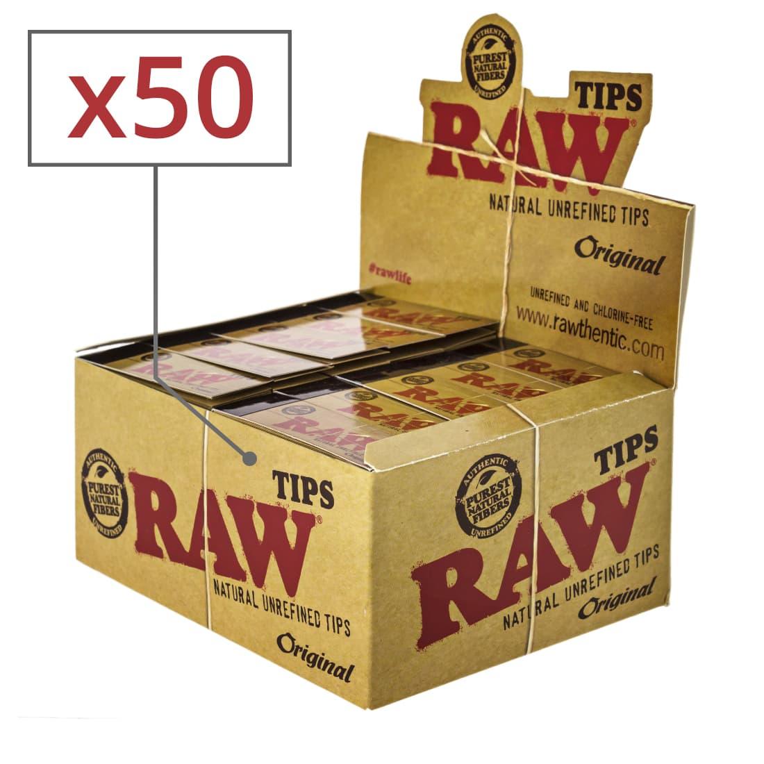 Photo de Filtres en Carton Raw x50
