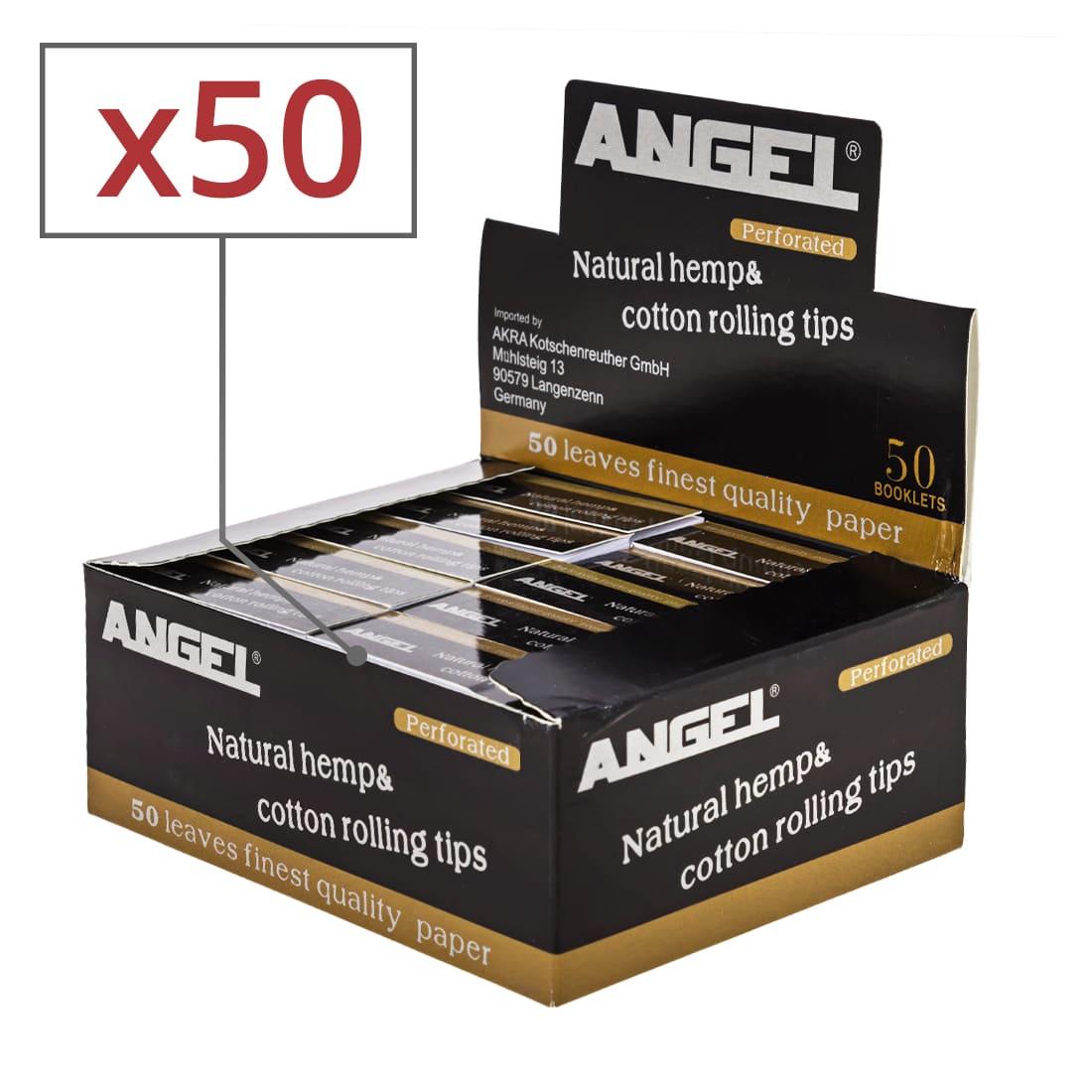 Photo de Filtres en carton Angel perforés x 50