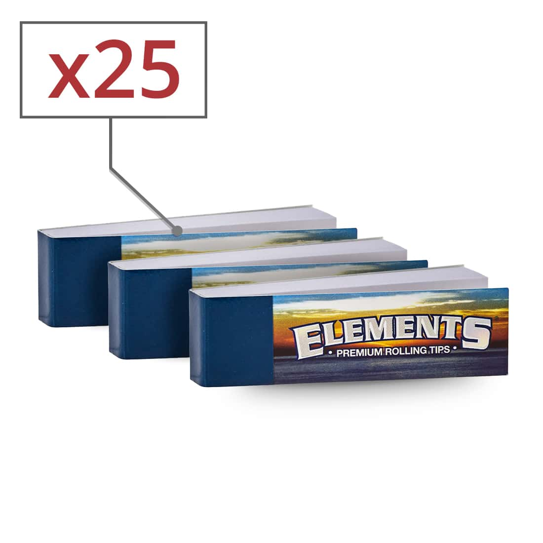 Photo de Filtres en carton Elements x 25