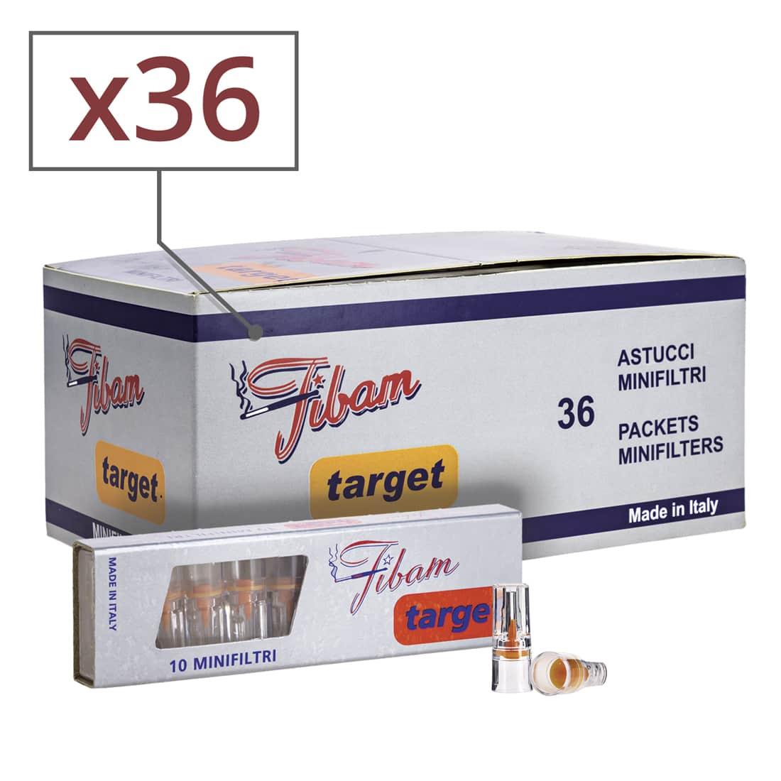 Photo de Filtres Fibam Target x 36 boites