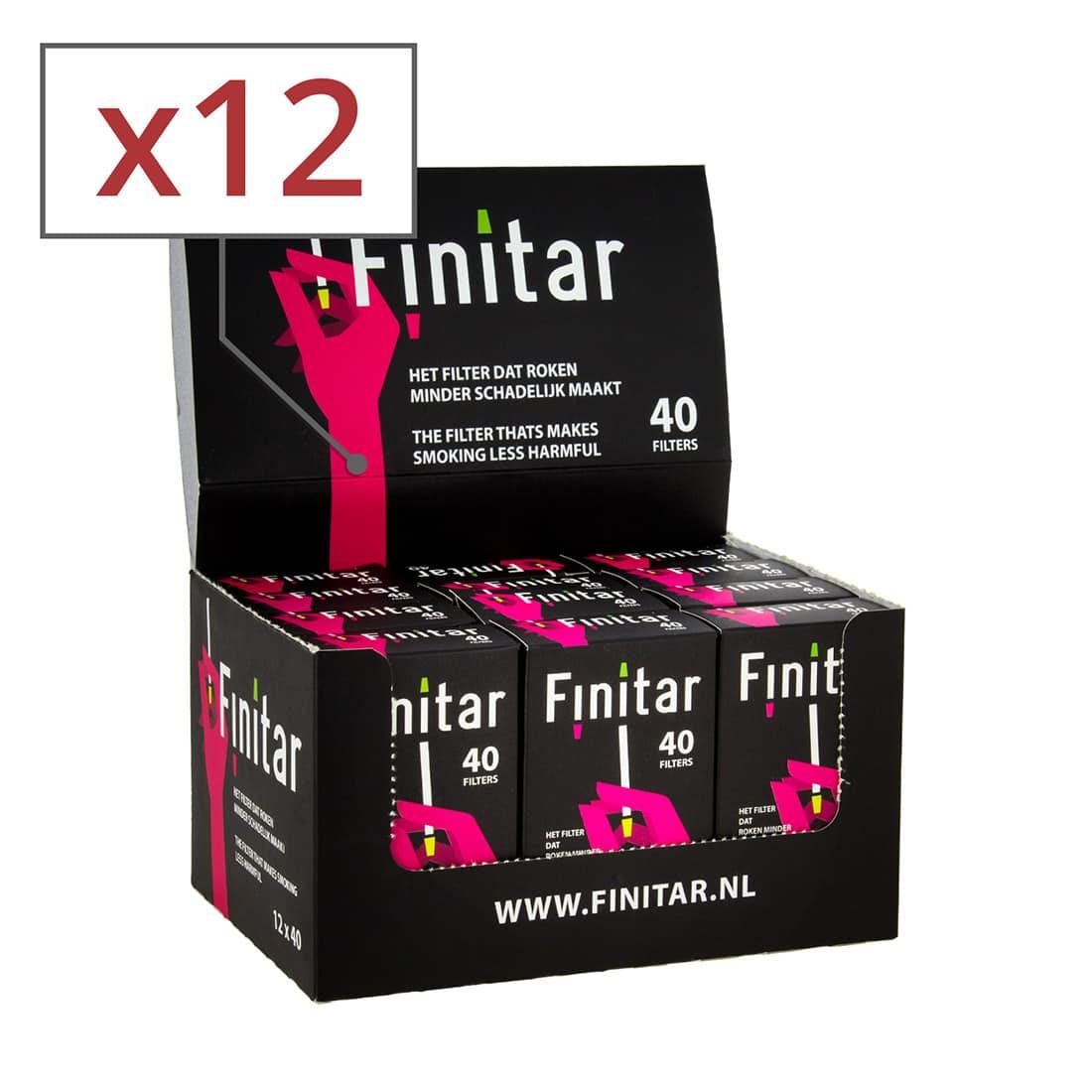 Photo de Filtres Finitar 12 boites x 40 filtres