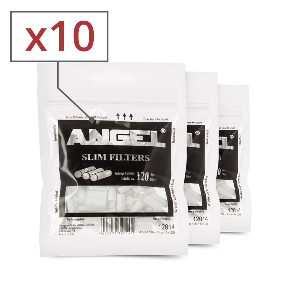 Photo de Filtres Angel Slim x 10 sachets