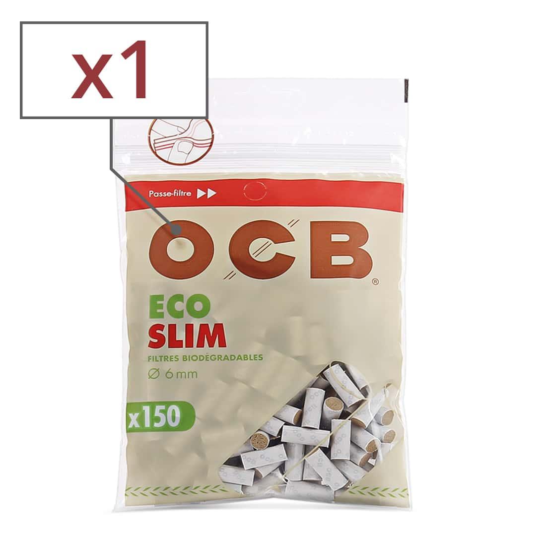 Photo de Filtres OCB Eco Bio Slim x 1 sachet