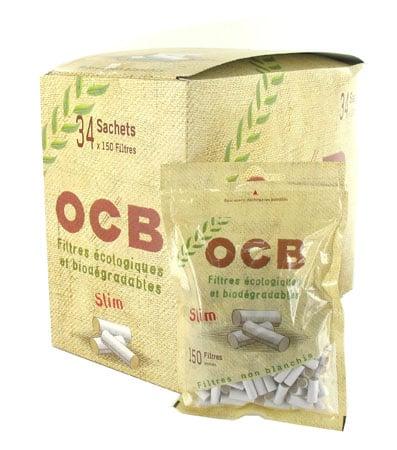 Photo de Filtres OCB Eco Slim x 34 sachets